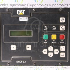 2 Speed Motor Wiring Diagram 4 6 Liter Ford Engine Emcp 3.1 3.2 3.3 Generator Set Control By Caterpillar Repair At Synchronics Electronics Pvt. Ltd.