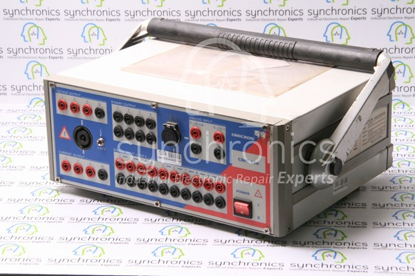 CMC 156-6 Relay Test Kit By Omicron Repair at Synchronics
