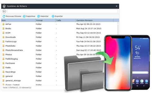 Access iOS File System