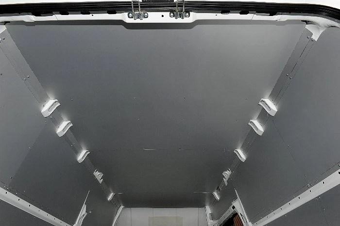 INTERIOR UPFIT OF THE FIAT DUCATO PROTECTIVE FLOOR