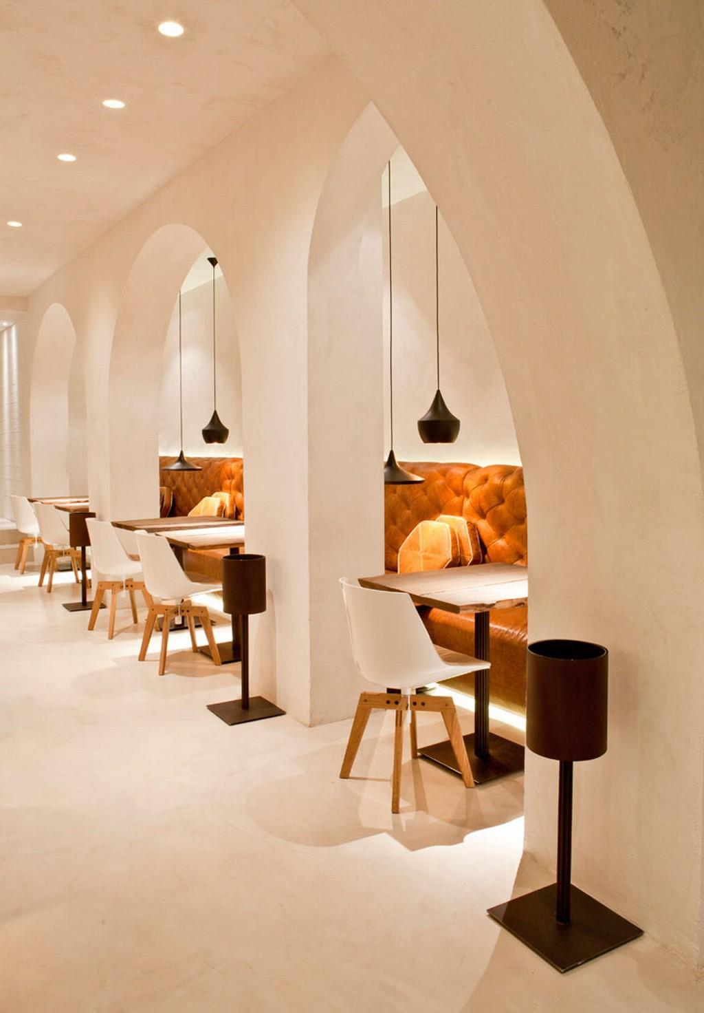 Saffron Restaurant  Arezzo  Syncronia
