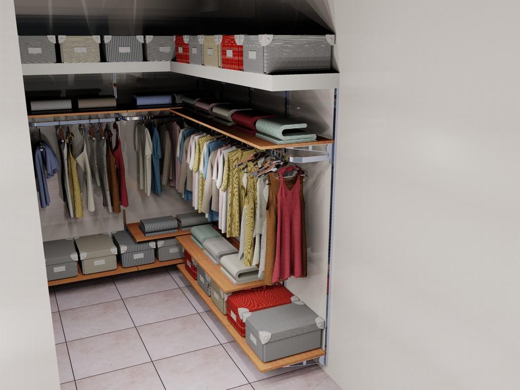 Soluzione cabine armadio  Syncronia