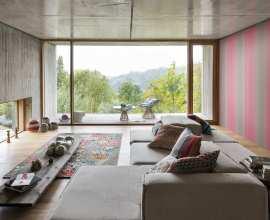 Panoramiques, icons, les tricots | shop a prezzi outlet. Wallpaper Production Missoni Home Wallpaper