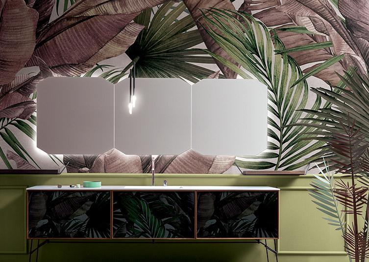 La carta da parati per il bagno si rinnova con vari materiali e. Lost In The Jungle Inediti Inkiostro Bianco Download 3d Textures Wallpaper