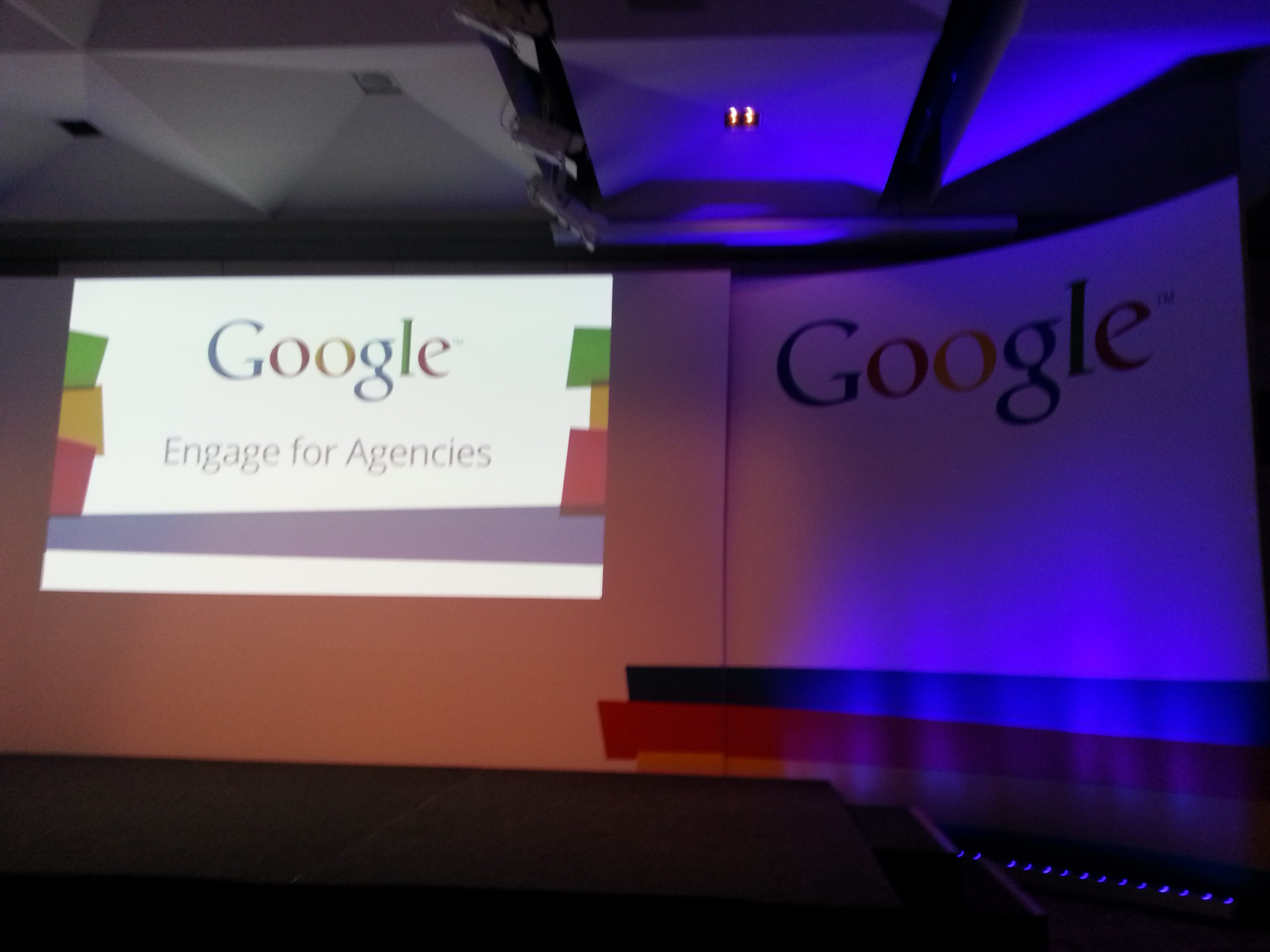 The stage at Google Engage
