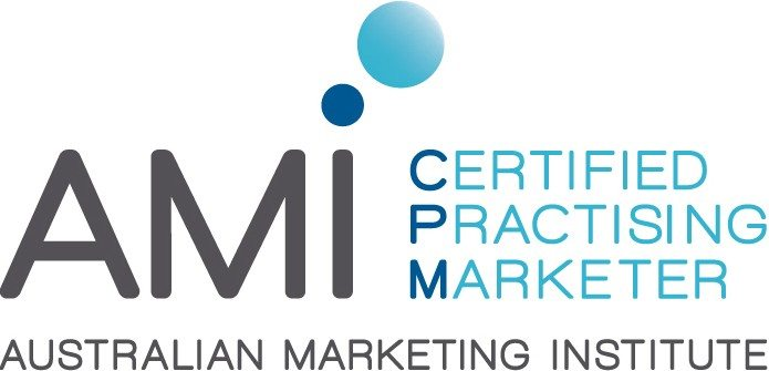 The Certified Practising Marketer - as accredited by the Australian Marketing Institute