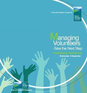 Managing Volunteers - Take the Next Step