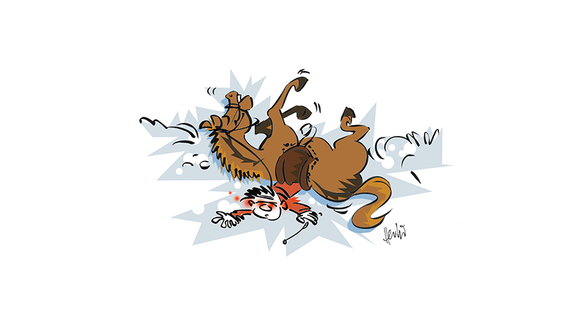 Cartoons-Pferde-7
