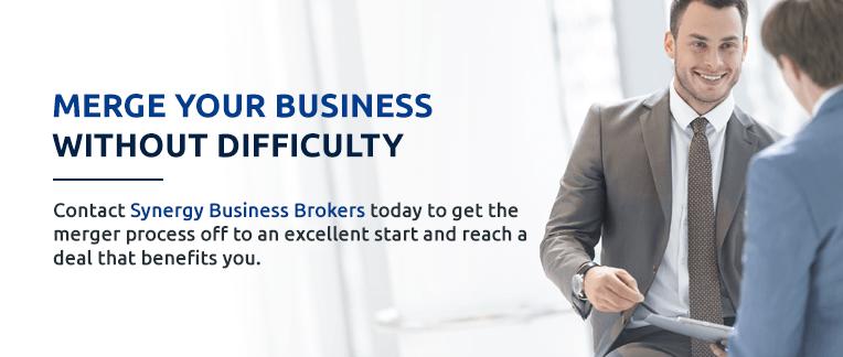 Merge and Acquisition a business with Synergy Business Brokers.