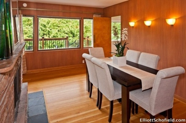 Dining Room staged by Synergy Staging in Portland Oregon