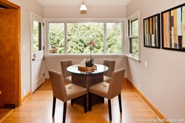 Kitchen staged by Syergy Staging in Portland Oregon