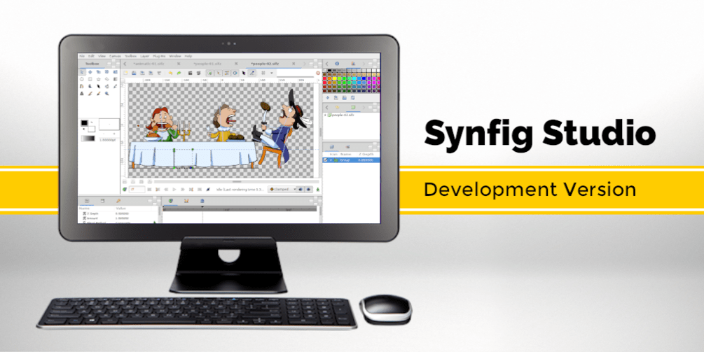 Synfig Studio 1.3.5 released