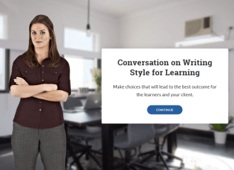 Conversation on Writing Style for Learning