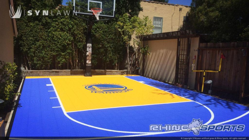 Multi Sport Backyard Court System SYNLawn Photo Gallery