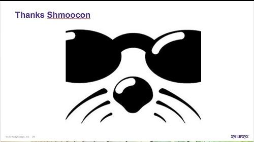 Gary McGraw's Shmoocon keynote recaps security career with