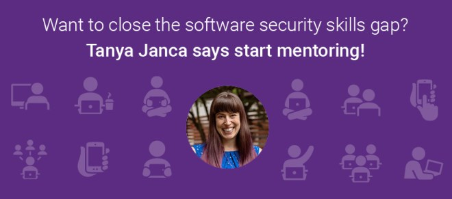 Tanya Janca: Close the software security skills gap by mentoring | Synopsys