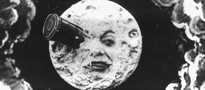 Still from the Georges Méliès film Le Voyage dans la Lune (A Trip to the Moon)