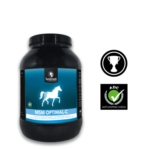 Pure MSM for horses, Vitamin C for horses