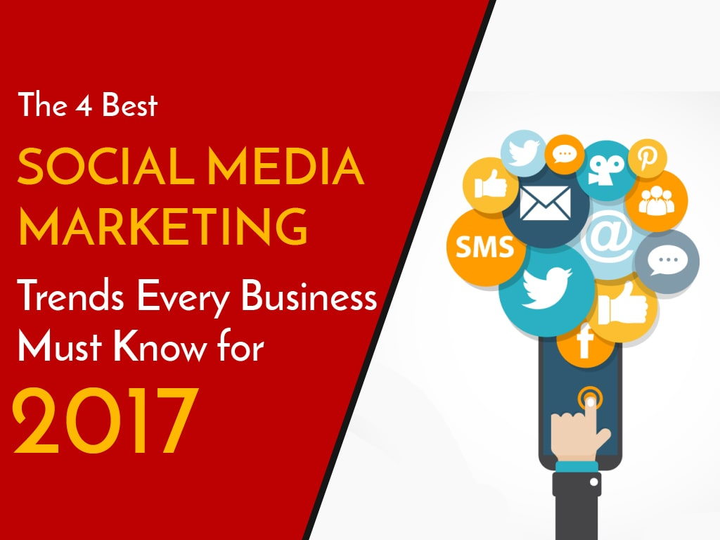 The 4 Social Media Marketing Trends Every Business must know for 2017