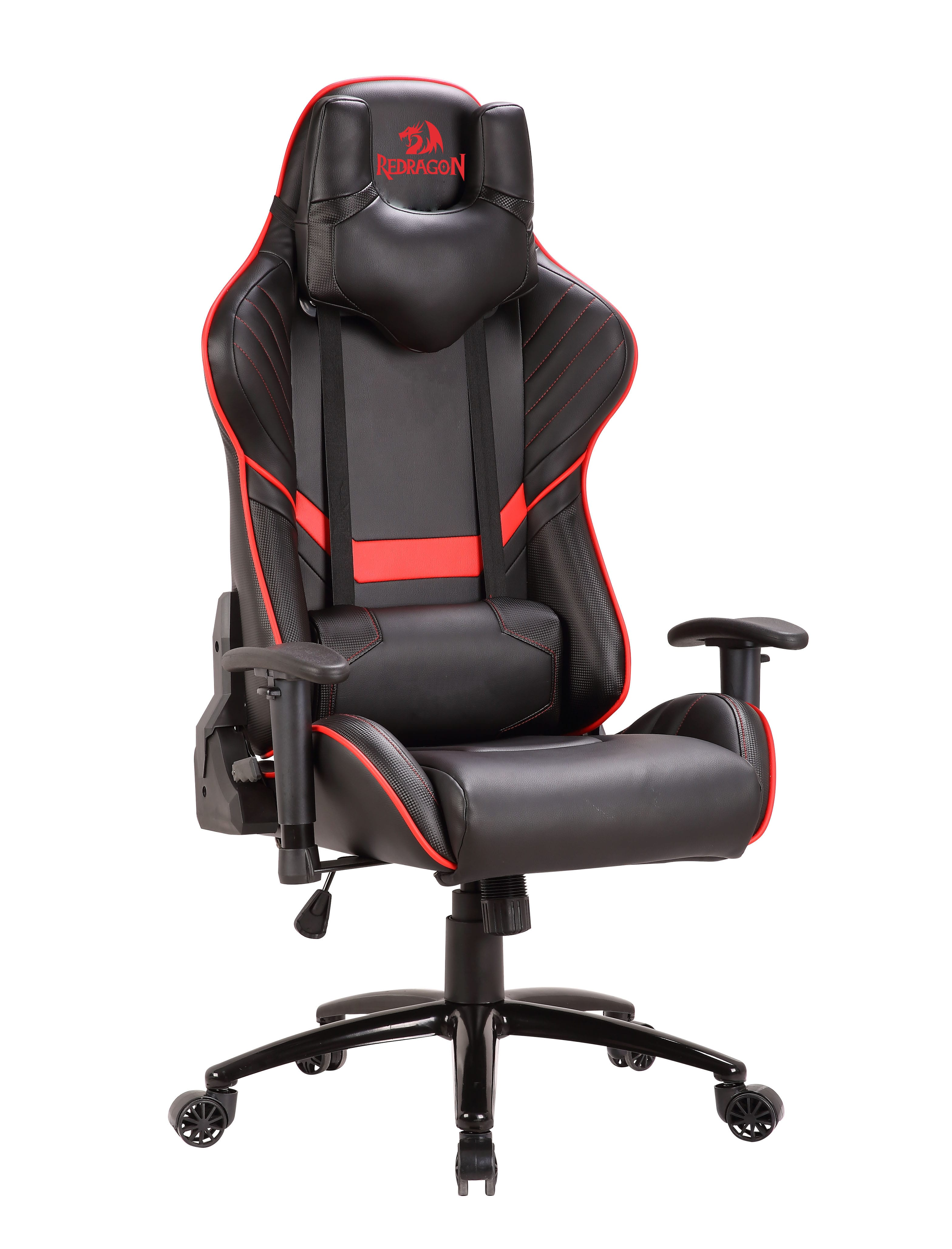 gaming chair companies office herman miller aeron redragon coeus black and red syntech