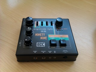 sr 99 2 EDC SR 99 ANALOG DRUM MACHINE FOR SALE