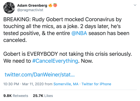 pr-crisis-rudy-gobert-nba-coronavirus