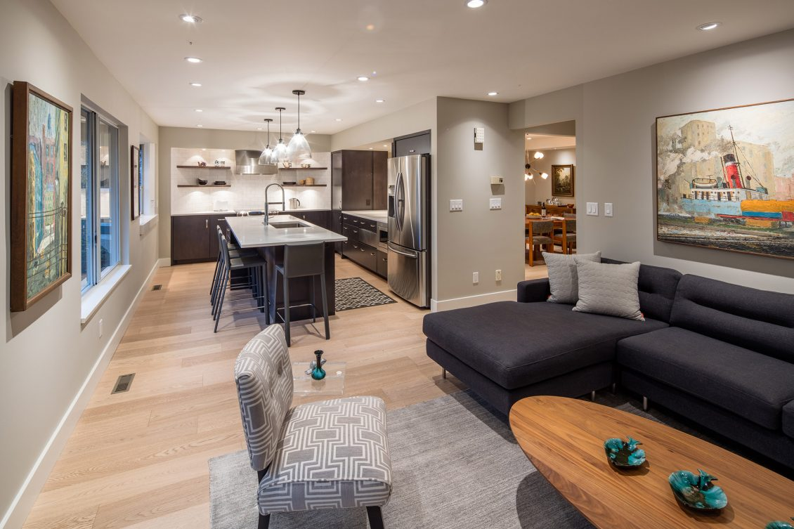 Tempe Residence Vancouver Interior Design Synthesis Design