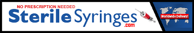 Buy Syringes online from the most reliable international supplier of sterile syringes, needles, and injection water with no prescription required!