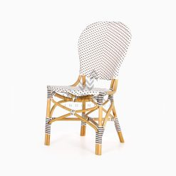Ally Outdoor Wicker Bistro Chair perspective