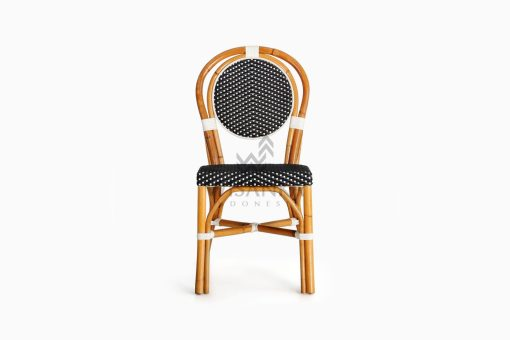 Iry Dining Arm Wicker Bistro Chair front