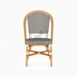 Josh wicker dining Bistro Chair front