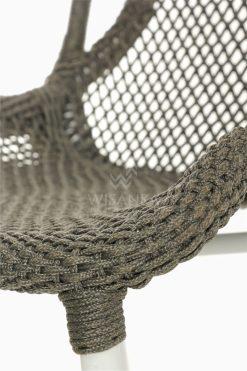 Millen Rope Bistro Side Chair Detail 2