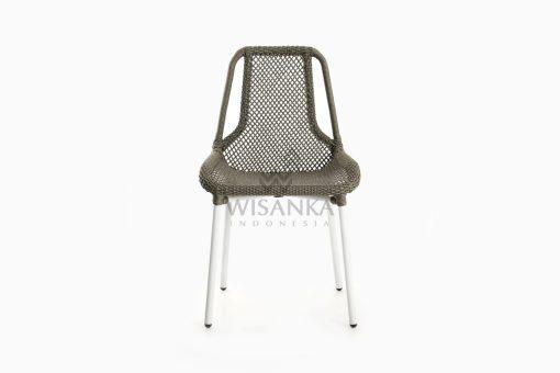 Millen Rope Bistro Side Chair front
