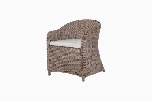 Molde Outdoor Rattan Patio Arm Chair perspective