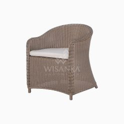 Molde Outdoor Rattan Patio Arm Chair perspective
