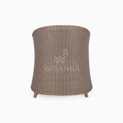 Molde Outdoor Rattan Patio Arm Chair rear