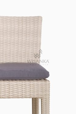 Victoria Bar Chair with Seat Cushion outdoor rattan furniture