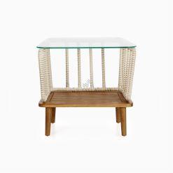 Anjani Terrace Table - Outdoor Rattan Patio Furniture front