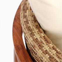 Arka Terrace Chair - Outdoor Rattan Patio Furniture detail 2