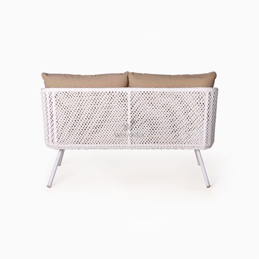 Clarendon Sofa 2 Seater - Outdoor Rattan Patio Furniture rear