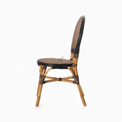 Oka Bistro Chair - Outdoor Rattan Patio Furniture side