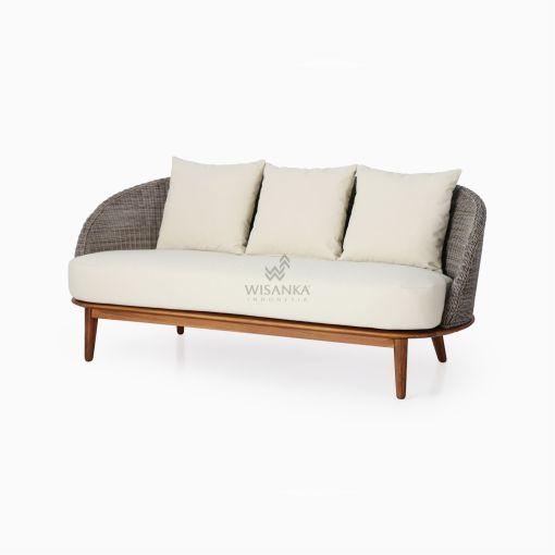 Malvin Living Sofa 2 Seater - Outdoor Rattan Garden Furniture