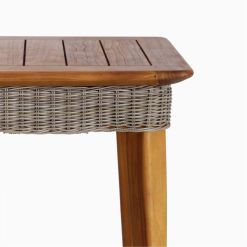 Malvin Living Table Details - Outdoor Rattan Garden Furniture
