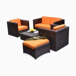 Tanzania Living Set - cube garden furniture set