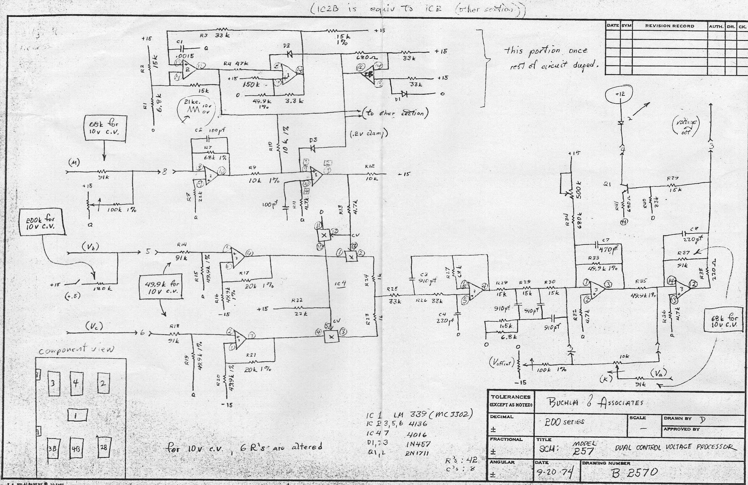 Audio Electronic Circuit Schematics