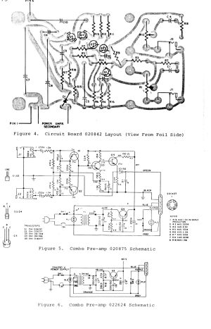 Synthfool:Docs:Leslie:Leslie Combo Preamp Service Manual