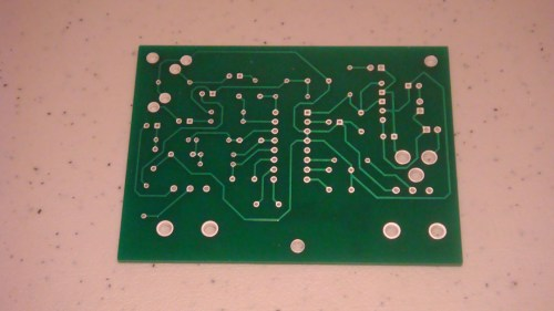 small resolution of the bottom layer of our pcb is where we will be soldering our leads and wires