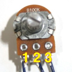 100k Dual Ganged Stereo Volume Control Wiring Diagram Molecular Orbital Energy Level For O2 Potentiometer Controls Manual E Books Synthrotekpotentiometer 18