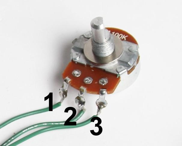 Potentiometer Wiring Diagram Villex