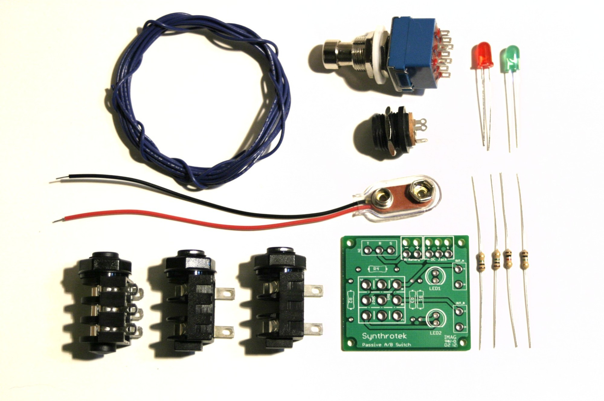 hight resolution of passive a b switch 3pdt electronic circuits a
